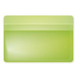 """Обложка для проездного билета """"Neon"""" салатовый, 105*70 мм пластик"""