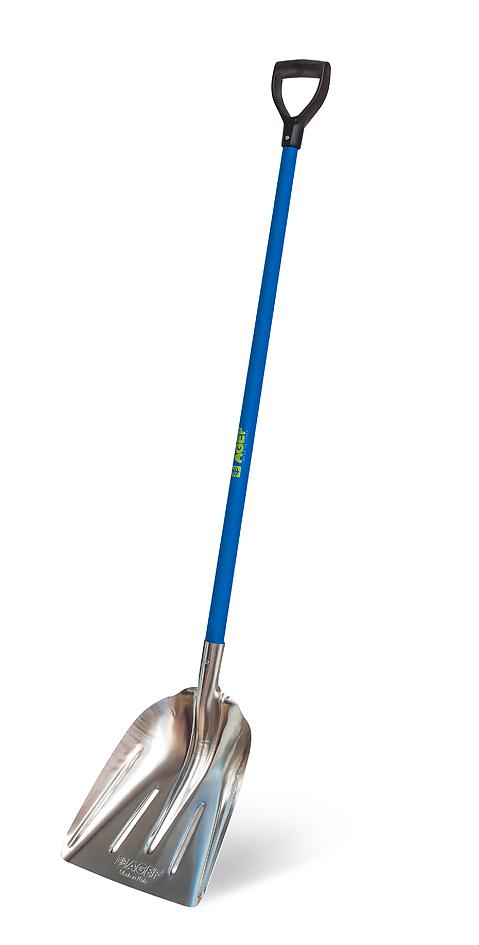 Лопата алюминиевая совковая 164 см, Италия