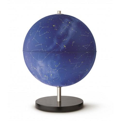 Глобус LINEA STELLARE D-30 см с подсветкой, карта звездного неба, латиница