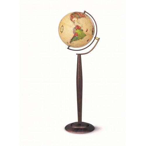 Глобус SYLVIA ANTIQUE D-37 см с подсветкой, русский язык