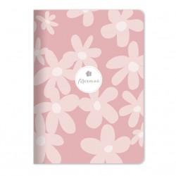 """Тетрадь """"Dream"""" розовый,  150х210 мм/48 л, мягк. переп.,скрепка,  клетка"""