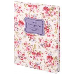 """Ежедневник дат. 2019 """"Provence"""" 140х200 мм, 352 стр., твердый переплет"""