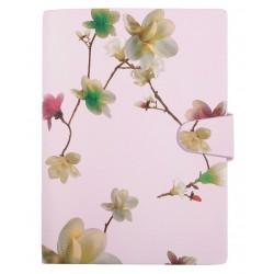 """Ежедневник не датированный """"Florian"""" 140х200 мм, 320 стр., розовый,  суперобложка, магн. клап."""
