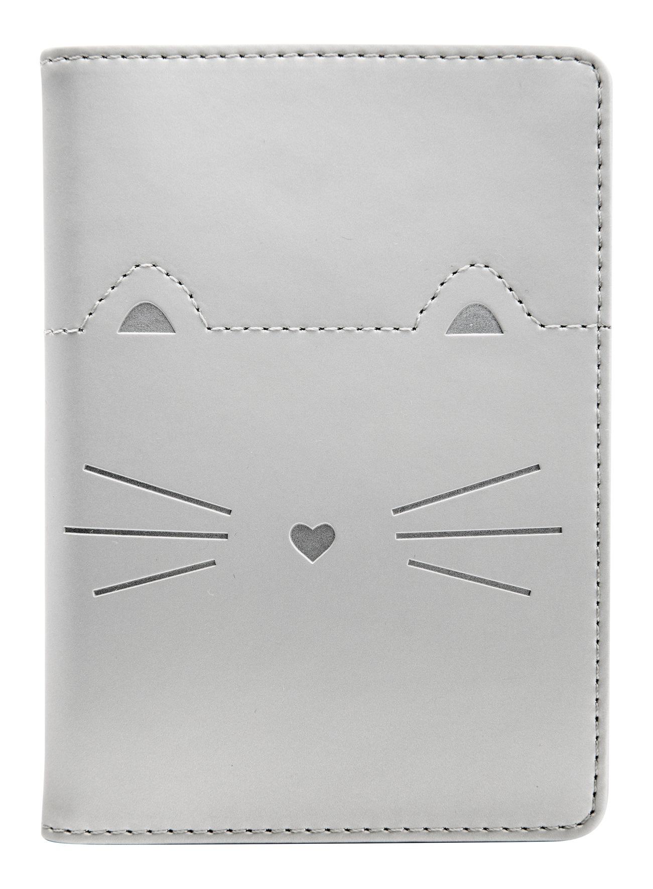 Обложка для автодокумента Kitty Infolio, 100*135 мм, искуств. кожа