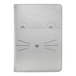 "Обложка для паспорта ""Kitty"", 100*135 мм, искуств. кожа"