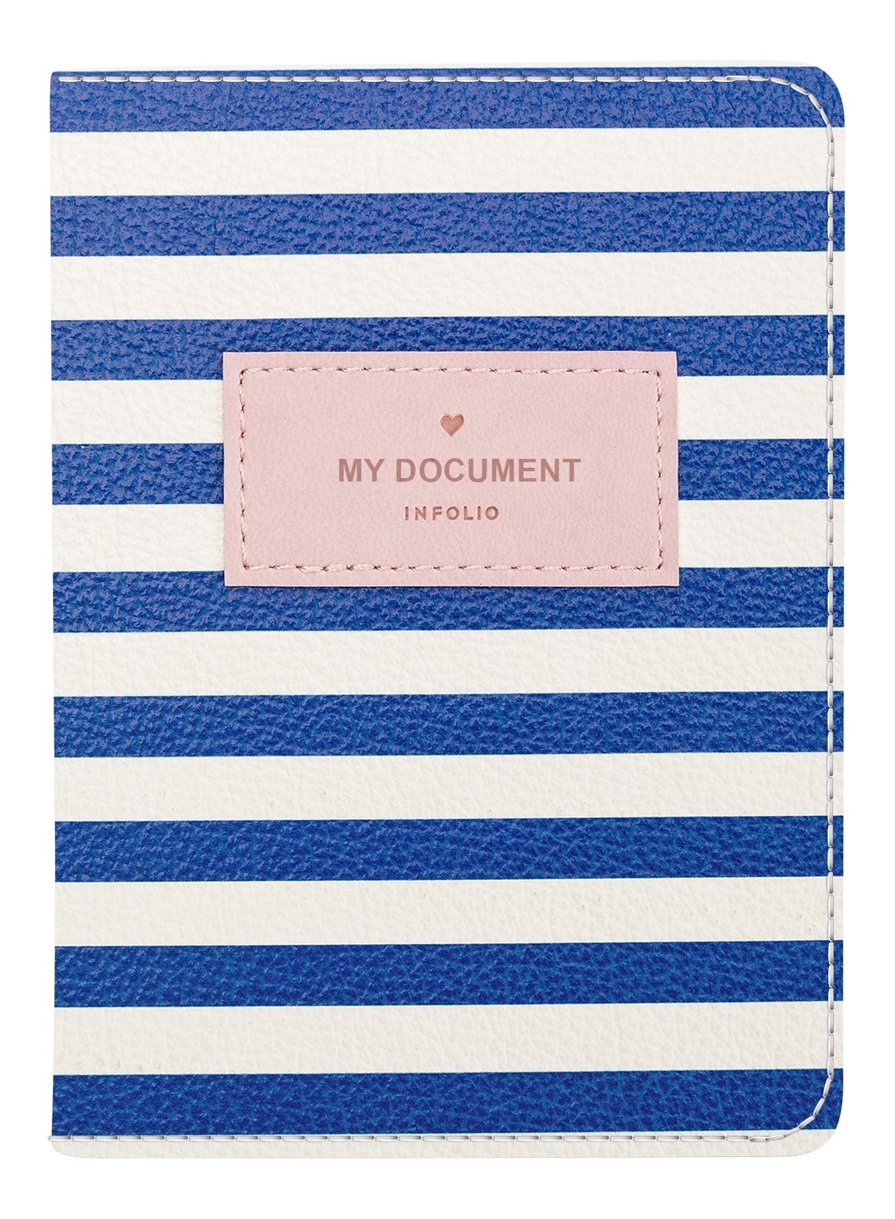 """Обложка для паспорта """"Seaside, 100*135 мм, искуств. кожа"""