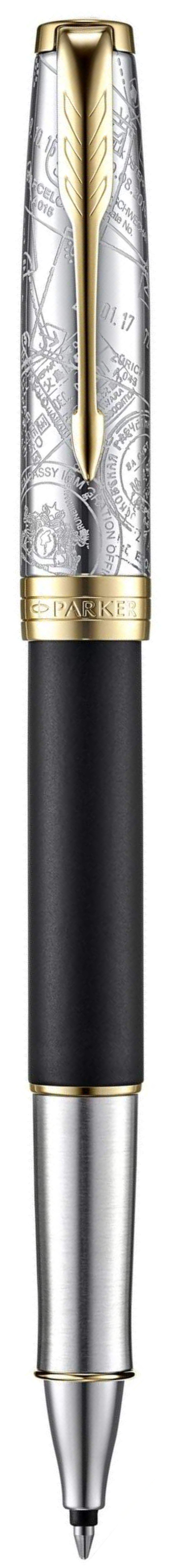 Ручка Parker Sonnet SE18 Matte Black GT роллер