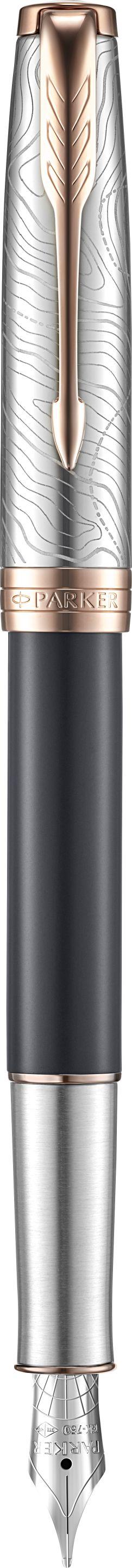 Ручка Parker Sonnet SE18 Grey PGT перо
