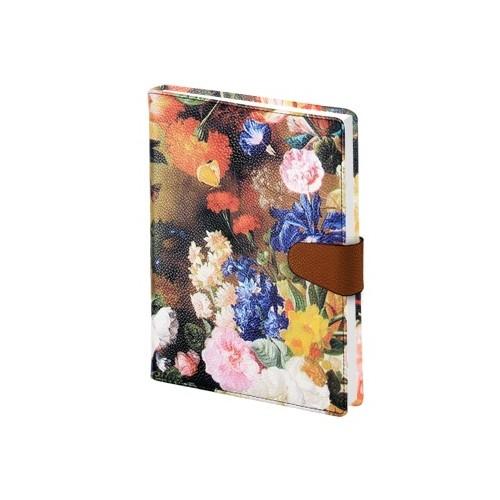 """Ежедневник датированный 2019  """"Floria"""" 140х200 мм, 352 стр., суперобложка, магн. клап."""