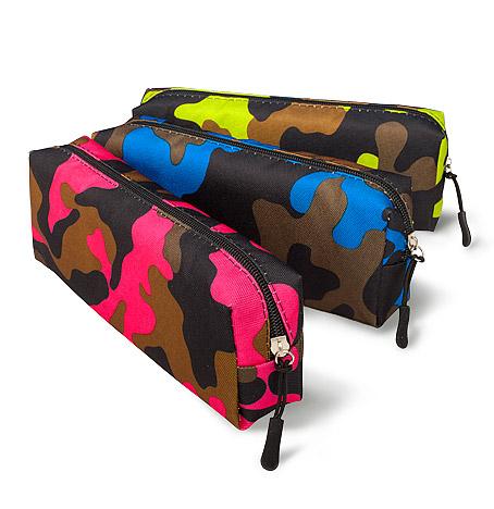 "Пенал School Point ""Camouflage"" 21x7x4,5 см ассортимент, 3 вида"