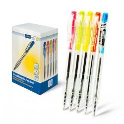 Ручка Office Point шариковая автоматическая DK-691 0.7мм синяя