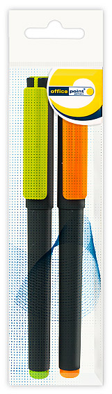 Ручка Office Point гелевая GS-653 0.7мм 2шт черная