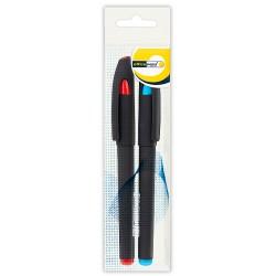Ручка Office Point гелевая GS-652 0.7мм 2шт синяя