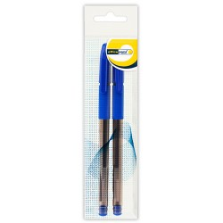 Ручка Office Point гелевая GS-655 0.5мм 2шт синяя