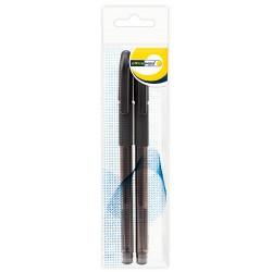 Ручка Office Point гелевая GS-655 0,5мм 2шт черная