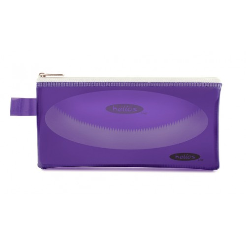 Пенал-косметичка Helios фиолетовая