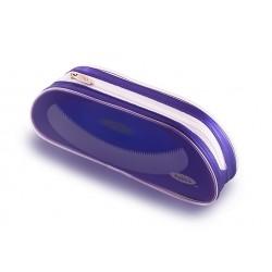 Пенал-овал Helios фиолетовая