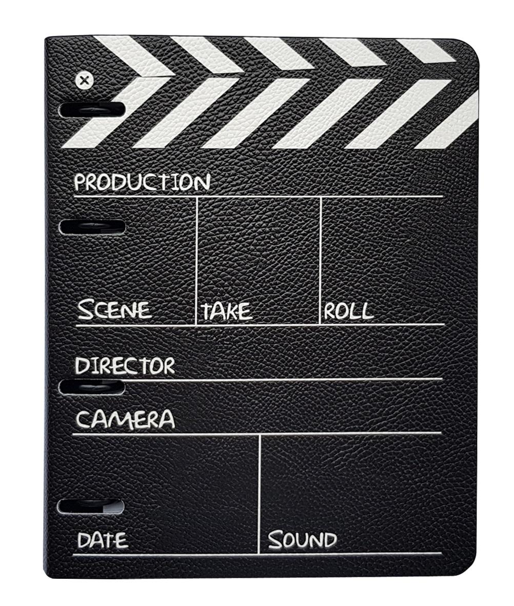 """Обложка для смен. блока """"Movie"""" 175x212  к/з  на кольцах"""