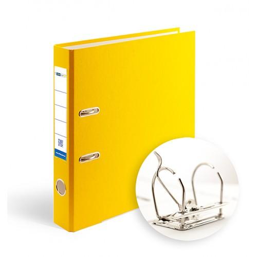 Папка-регистратор А4 5см Office Point разборная желтая