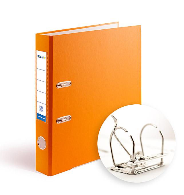 Папка-регистратор А4 5см Office Point разборная оранжевая