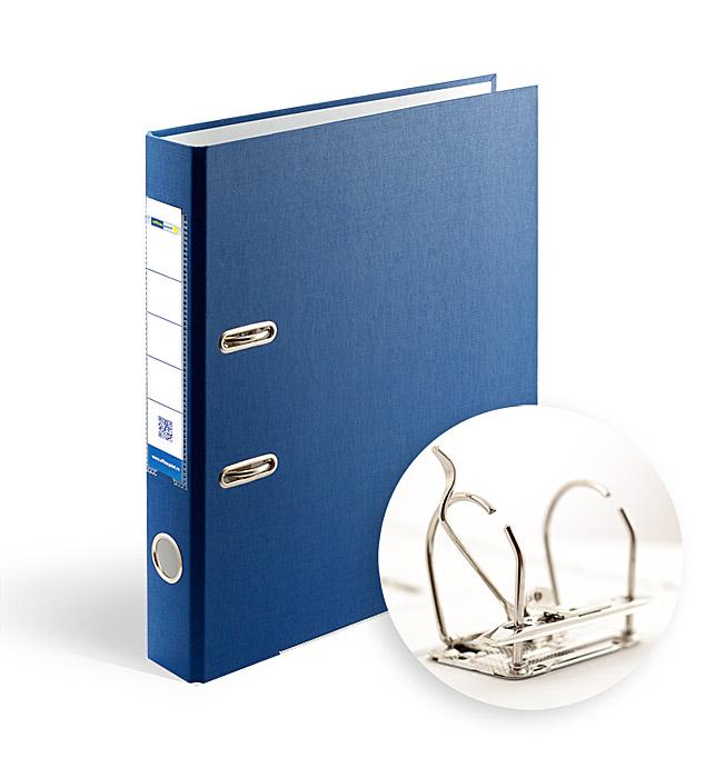 Папка-регистратор А4 5см Office Point разборная синяя