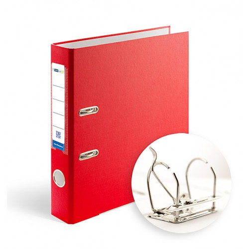Папка-регистратор А4 5см Office Point разборная красная