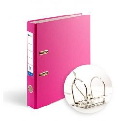 Папка-регистратор А4 5см Office Point разборная фуксия