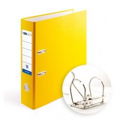 Папка-регистратор А4 7.5 см Office Point разборная желтая