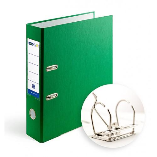 Папка-регистратор А4 7.5 см Office Point разборная зеленая