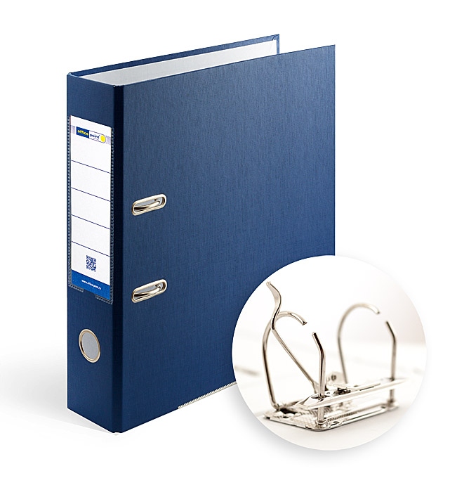 Папка-регистратор А4 7.5 см Office Point разборная синяя