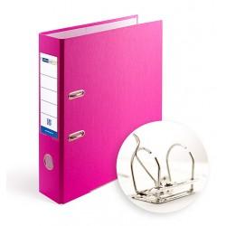 Папка-регистратор А4 7.5 см Office Point разборная фуксия