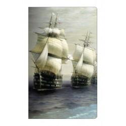 "Тетрадь Art-Blanc ""Ayvazovsky"",108х175  мм/40 л, нелинованный, мягк. переп.,скрепка"