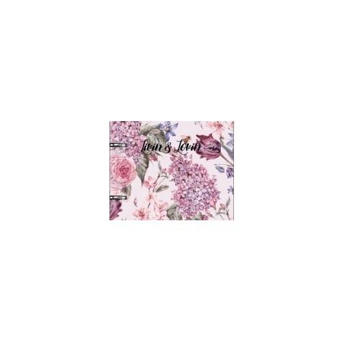 "Тетрадь ""Emily"", розовый, 155х212 мм, 80 л., клетка, кольц. механизм, картон"