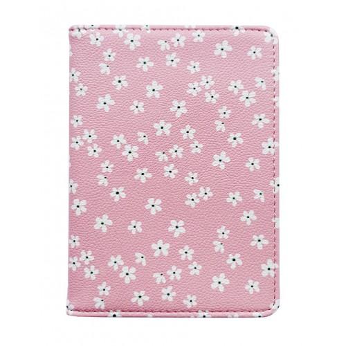 """Обложка для паспорта """"Le petit"""" розовый, 100х135 мм, искуственная кожа"""