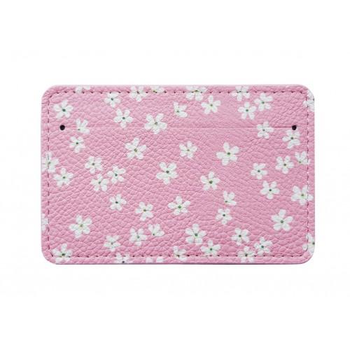 """Обложка для проездного билета """"La petit"""" розовый, 100х65 мм, искуственная кожа"""