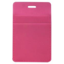 """Обложка для проездного билета """"Solo"""" розовый, 70*110 мм пластик"""