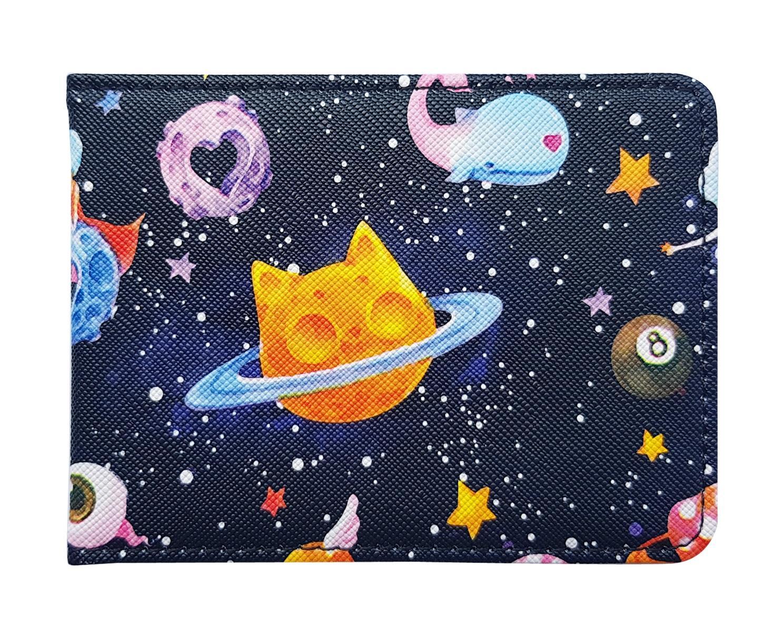 """Обложка для студенческого билета """"Cosmos"""" 112*83 мм иск. кожа"""