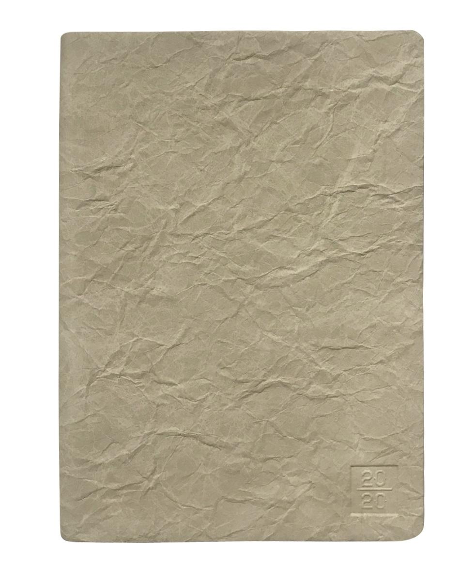 """Ежедневник дат. 2020 """"Modern"""" 140*200/352 стр, светло-коричневый, мягкий переплет, ляссе"""