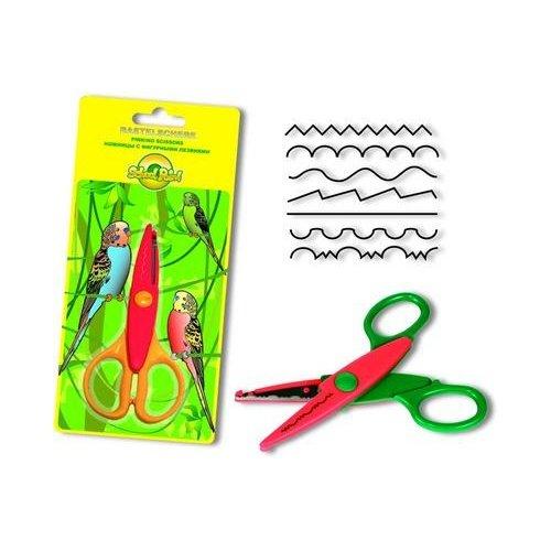 Ножницы детские с фигурными лезвиями