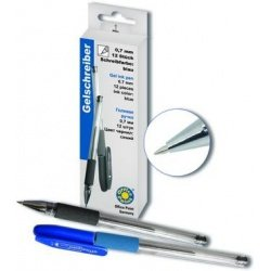 Ручка Office Point гелевая Style синий
