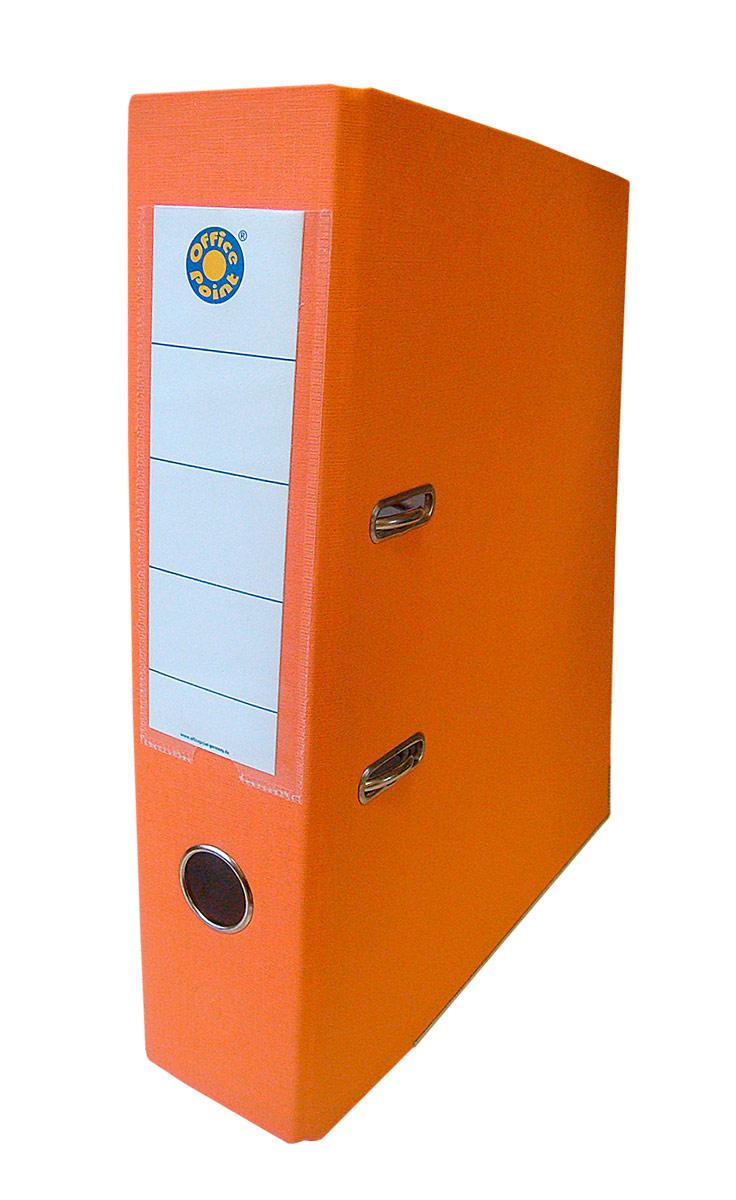 Папка-регистратор А4 5см Office Point сборная оранжевая