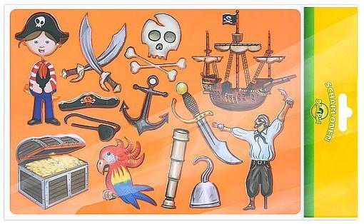 "Трафарет School Point ""Pirates"""