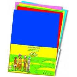 Набор цветной бумаги School Point 20л